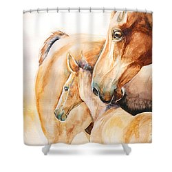 Protection Shower Curtain by Tamer and Cindy Elsharouni