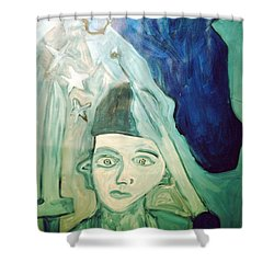 Protector Of The Great Land Shower Curtain
