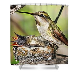 Proud Mom Shower Curtain