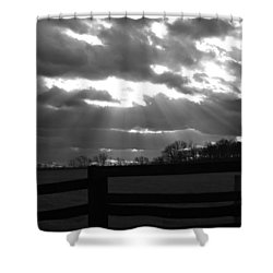 Shower Curtain featuring the photograph Psalm 19 1 by Carlee Ojeda
