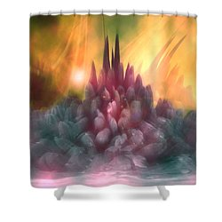 Psychedelic Tendencies   Shower Curtain