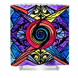 Psychic Shower Curtain by Teal Eye  Print Store