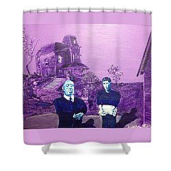 Psycho Set Shower Curtain