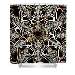 Psychotronic Revolution Shower Curtain by Anastasiya Malakhova