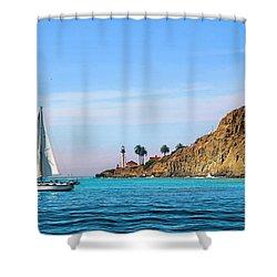 Pt Loma - San Diego Bay Shower Curtain