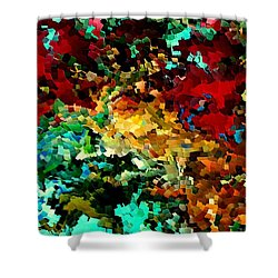 Puddle By Rafi Talby Shower Curtain by Rafi Talby