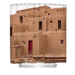 Pueblo Living Shower Curtain