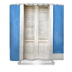 Puerta En El Viejo San Juan Shower Curtain
