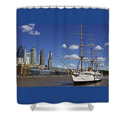 Puerto Madero Buenos Aires Shower Curtain