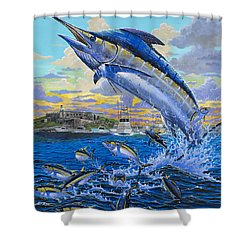 Puerto Rico Ibt 2013 Off00144 Shower Curtain by Carey Chen
