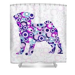 Pug - Animal Art Shower Curtain