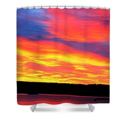 Puget Sound Colors Shower Curtain