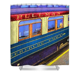 Pullman Shower Curtain