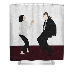 Pulp Fiction 2 Shower Curtain