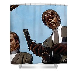 Pulp Fiction Artwork 1 Shower Curtain
