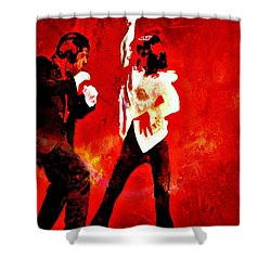 Pulp Fiction Dance 2 Shower Curtain