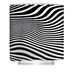 Pulsating Shower Curtain