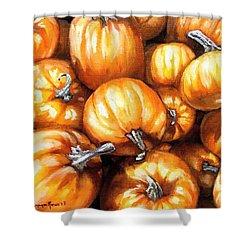 Pumpkin Palooza Shower Curtain