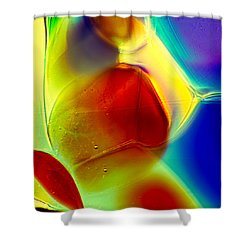 Puppy In Light Shower Curtain by Omaste Witkowski