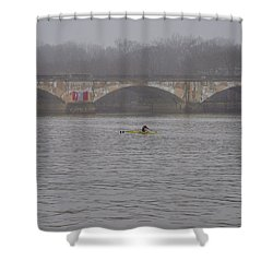 Pure Dedication Shower Curtain by Bill Cannon