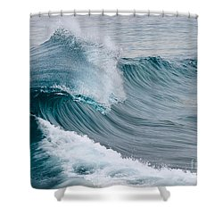 Pure Energy Shower Curtain by Eddie Yerkish