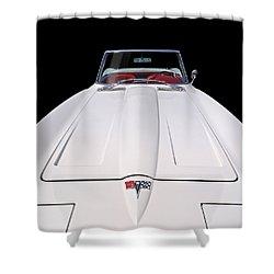 Pure Enjoyment - 1964 Corvette Stingray Shower Curtain