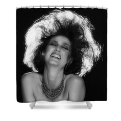 Shower Curtain featuring the photograph Pure Joy by Mark Greenberg