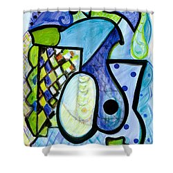 Pure Perfection Shower Curtain