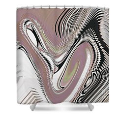 Purgatorio 5 Shower Curtain