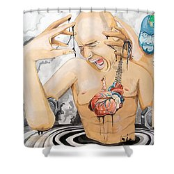 Purge Shower Curtain