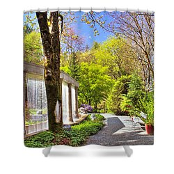 Purifying Walk Shower Curtain by Eti Reid