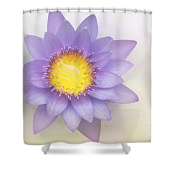 Purity And Grace Shower Curtain by Sharon Mau