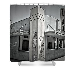 Purity In The Ruins Shower Curtain