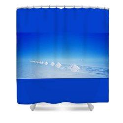 Purity Shower Curtain by Shaun Higson