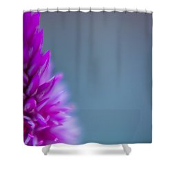 Shower Curtain featuring the photograph Purple Blur by Steven Santamour