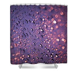 Purple Dew Shower Curtain
