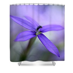 Purple Dreams Shower Curtain by Annie Snel