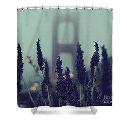 Purple Haze Daze Shower Curtain