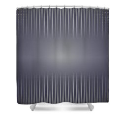 Purple Horizon Shower Curtain