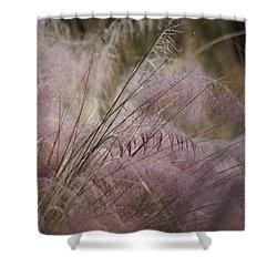 Purple In Bloom Shower Curtain by Patricia Twardzik