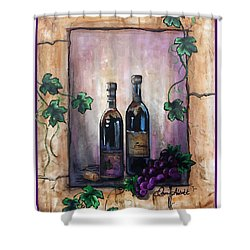 Hazy Purple Memories Shower Curtain