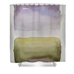 Purple Morning Shower Curtain