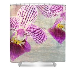 Purple Orchid 2 Shower Curtain