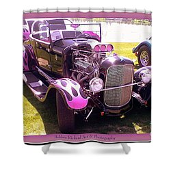 Shower Curtain featuring the photograph Purple Passion by Bobbee Rickard