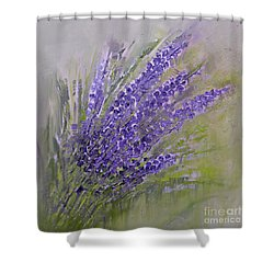 Purple Lavender Summer Shower Curtain