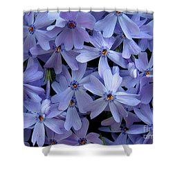 Purple Sunshine Shower Curtain by Patti Whitten