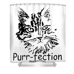 Purr-fection Shower Curtain