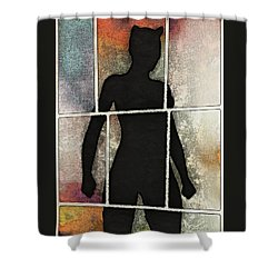 Purrfect Stand Shower Curtain