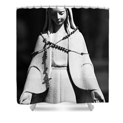Put My Life In Your Hands  Shower Curtain by Jerry Cordeiro