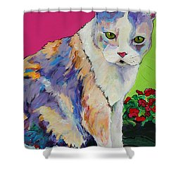 Puurl Shower Curtain by Pat Saunders-White